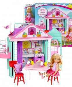 Barbie Original Little Toy For Story House Kelly Dollhouse Cute Girl Birthday Toys For Children Gifts Fashion Dolls For Girls 1