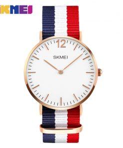 SKMEI Lovers' Quartz Watches Luxury Men Women Fashion Casual Watch 30M Waterproof Simple Ultra-thin Design Wristwatches 1181