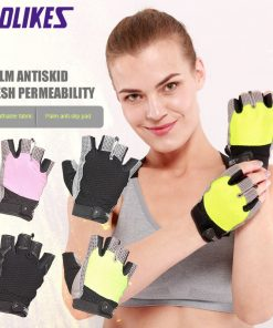 Gym Body Building Training Sports Fitness WeightLifting Gloves For Men And Women Custom Fitness Exercise Training Gym Gloves 1