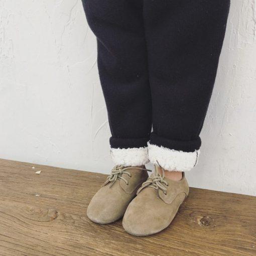 Toddler Boys trousers Thick winter velvet baby pants girl leggings children elastic waist girls warm leggings thickening pants 5