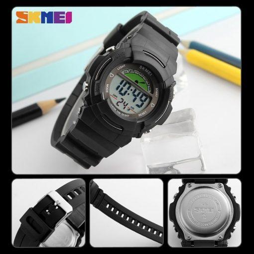 SKMEI New Sports Children Watches Fashion Alarm Watch Kids Back Light Waterproof Boy Digital Wristwatches Girl Relogio Infantil 3