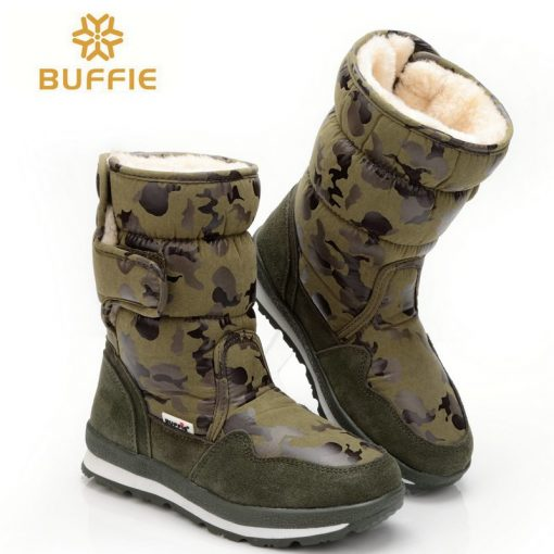 shoes Men winter warm boots camouflage snowboot small size to big feet popular new design fur insole male style free shipping 41 2