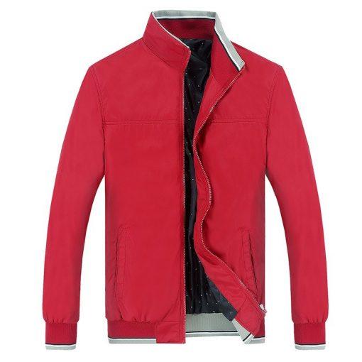 NaranjaSabor 2018 Spring Men's Jackets Men Casual Coats Men's Slim Windbreaker Brand Clothing Male Baseball Coats Outwear 5XL 1