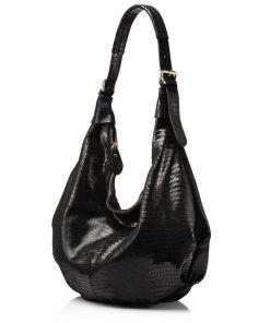 REALER New design handbag genuine Leather bag female Fashion animal pattern Hobo bags High Quality Women Tote Bag 1