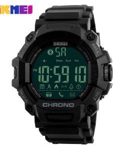 SKMEI Men Smart Watches Pedometer Waterproof Digital Wristwatches Man Remote Camera Call Reminder Smartwatch Relogio Masculino