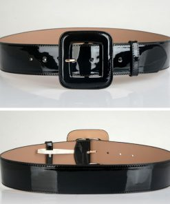 Hot Sale Leather Belts Free Shipping fashion pin buckle gold black luxury punk wide belt strap waistband dress wear for women