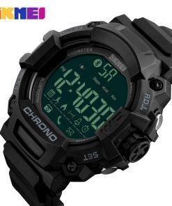 SKMEI Men Smart Watches Pedometer Waterproof Digital Wristwatches Man Remote Camera Call Reminder Smartwatch Relogio Masculino 1