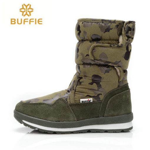 shoes Men winter warm boots camouflage snowboot small size to big feet popular new design fur insole male style free shipping 41 1