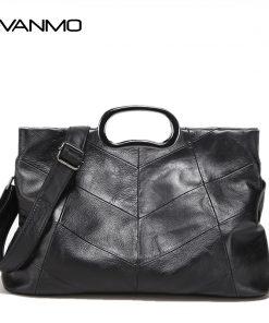 Luxury Handbags Genuine Leather Women Bags Designer Women's Leather Handbags Big Casual Tote Bag Ladies Shoulder Bag