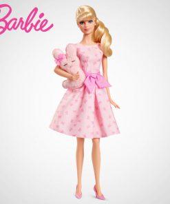 Barbie Doll  Fashion Cartoon Gift New Design Pink Blessing Dift For Children Dolls for Birthday Christmas Children Gifts DGW37