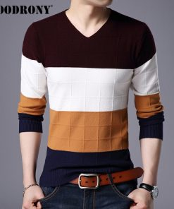 COODRONY Sweater Men Clothes 2018 Winter Thick Warm Mens Sweaters Cashmere Wool Pullover Men Casual V-Neck Pull Homme Jumper 259 1
