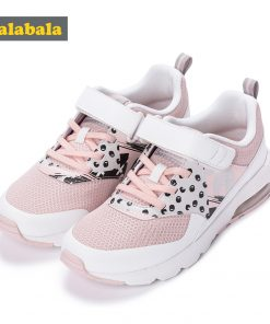 Children Sneakers Lighting Kids Shoes For Girls Lightweight Soft Bottom Non-Slip Wear-Resistant Girl Child Sports Shoes Comforta