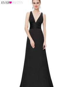 [Clearance Sale]Evening Dresses Ever Pretty HE09008 Women Sexy V-Neck Backless A-Line Sleeveless Elegant Evening Party Dresses