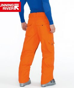 RUNNING RIVER Brand Winter Men Ski Pants Size S - 3XL Wateproof Windproof Warm Snow Man Outdoor Sports Pants #T3171 1