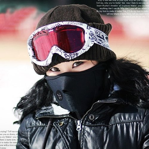 Neck Warm Half Face Mask Winter Sport Mask Windproof Bike Bicycle Cycling Mask Skiing Bibs Ski Snowboard Outdoor Masks Dust  3