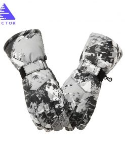 VECTOR Waterproof Ski Gloves Men Women Warm Skiing Snowboard Gloves Snowmobile Motorcycle Riding Winter Outdoor Snow Gloves  1