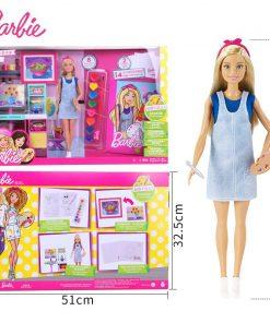 Original Barbie Little Artist Of Barbie Princess Girl Doll Suit American Girl Doll Birthday Gift Toys For Children Girls FRL35 1