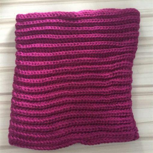 VISNXGI 2018 Winter Fashion Womens Warm Scarves Knit Neck Circle White Wool Blends Multi-purpose Wool Scarf Bufandas Hot Sale 3