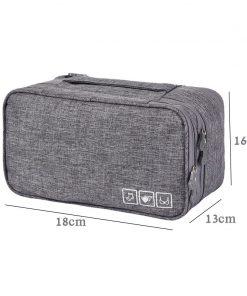 Women Waterproof  Underwear Travel Bag Bra Case For Travel Packing Bags For Bra Packing Cube Clothing Sock Bag Luggage Organizer 1