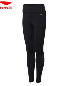 Li-Ning Women Professional Layer Pants Tight Fit Training Fitness Breathable Comfort LiNing Sports Pants AULN036 WKY159