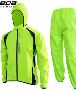 EEDA Sports Poncho Jacket Hooded Split Windshield Waterproof Raincoat Riding Mountain Bicycle Bike Cycling Raincoat Jersey