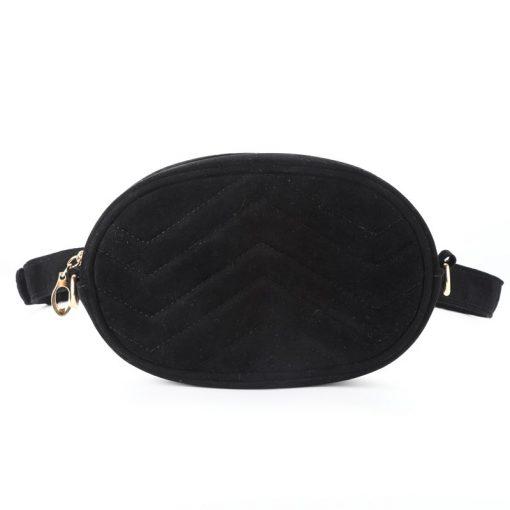 DAUNAVIA Waist Bag Women Waist fanny Packs belt bag luxury brand bags for women 2019 new fashion high quality corduroy waist bag 3
