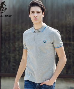 Pioneer Camp 2018 new summer men polo shirt cotton short sleeve  shirts  jerseys brand clothing 677031