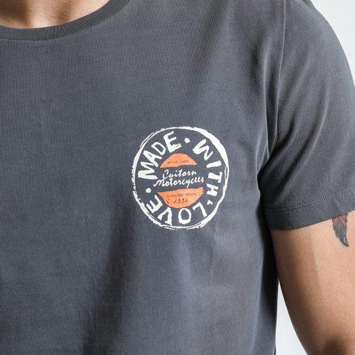 SIMWOOD T Shirt Men 2019 Crew Neck Summer New Graphic Print Fashion Slim Fit TShirt High Quality Plus Size Casual Tops 180044 3