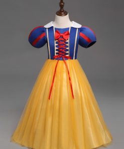 Halloween Clothes For Children Snow White Cosplay Dresses Girls Masquerade Party Princess Clothes Infant Baby Girl Tutu Dress 1