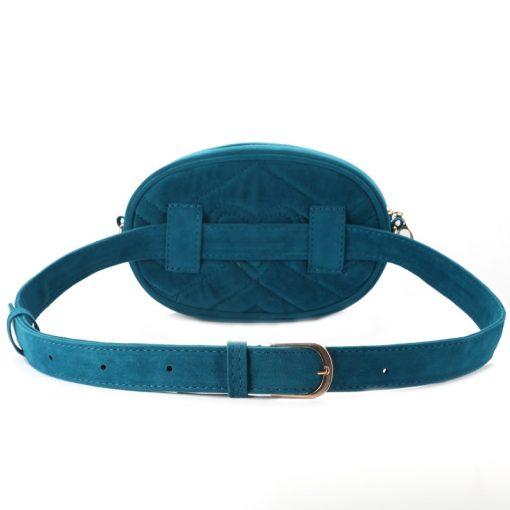 DAUNAVIA Waist Bag Women Waist fanny Packs belt bag luxury brand bags for women 2019 new fashion high quality corduroy waist bag 2