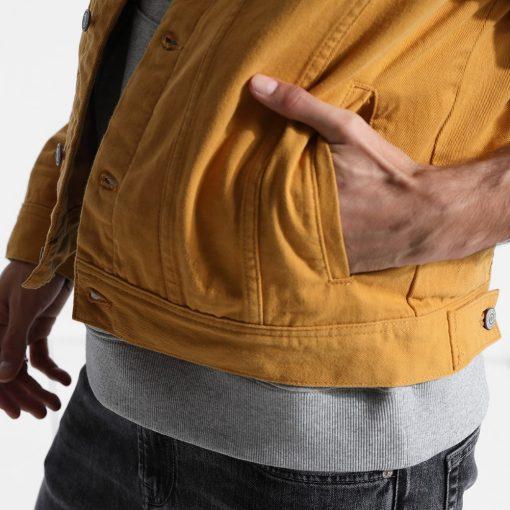 SIMWOOD Denim Jacket Men Fashion 100% Cotton Trucker Jackets Slim Fit Embroidery Chest Pocket 4 Colors Spring Coats 180468 5