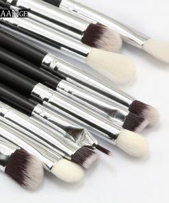 MAANGE 6/10pcs Makeup Brushes Set Pro Powder Eyeshadow Eyeliner Eye brow Blend Concealer Shading Make Up Brush Cosmetic Tool Kit 1