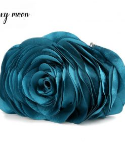 Hot Sale Evening Bag Flower Bride Bag Purse full dress Party handbag Wedding Clutch Women Evening Purse Lady Clutches EB034 1