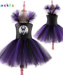 Latest Girls Halloween Costume Witch Tutu Dress for Girl Cosplay Kids Party Dresses for Birthday Christmas Carnival Girl Dresses