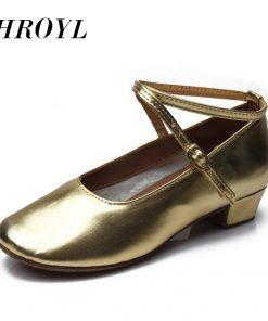 609new arrival wholesale Children/child/kids latin dance shoes ballroom tango salsa dancing shoes low heel dance shoes 609
