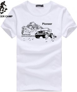 Pioneer Camp fashion mens t shirt short sleeve casual male tshirt  t-shirt white grey white dark blue long sleeve in stock