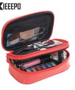 Women Luxury Travel Cosmetic Bag Professional Makeup Bag Organizer Case Beauty Necessary Make up Storage Beautician Wash Box