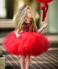 Girls Dress Summer Holiday Dresses For Children Sleeveless Sequins Girl Gowns Princess Kids Dresses For Girls 6 Years Robe file