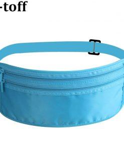 Women Polyester Belt Bags Waist Packs Bags Unisex Nylon Waistband For Accessory Small Travel Bag