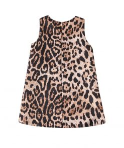 Girls Dress Christmas Clothes Baby Girl Elegant Dresses Children Vestidos Leopard Princess Dress New Year Costume for Kids 2-10Y 1