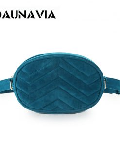 DAUNAVIA Waist Bag Women Waist fanny Packs belt bag luxury brand bags for women 2019 new fashion high quality corduroy waist bag