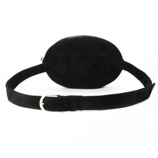 DAUNAVIA Waist Bag Women Waist fanny Packs belt bag luxury brand bags for women 2019 new fashion high quality corduroy waist bag 5