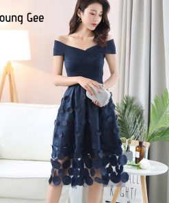 YoungGee European Summer Bandage Dresses Pink Blue Fitted Off the Shoulder Bead Appliques Bodycon Lace Party Midi Dress vestidos