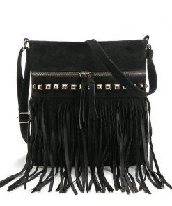 Fashion Rivet Tassel Women Bags High Quality Shoulder Messenger Bags Designer Ladies Handbags Crossbody Bolsa Feminina 1