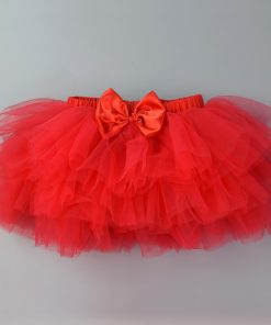 Baby Girls Skirts Tutu Clothes Baby's Ballet Dance Pettiskirt Summer Newborn Princess Bow Chiffon Miniskirt Birthday Gifts 1