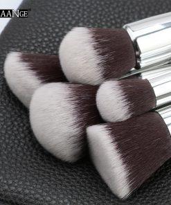 MAANGE 6-15Pcs Makeup Brushes Set Powder Foundation Eyeshadow Cosmetic Make Up Brush With PU Leather Case Beauty Tool Kit 1
