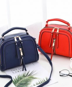 REPRCLA Luxury Handbags Designer Women Bag PU Leather Shoulder Bag Crossbody High Quality Women Messenger Bags Sac A Main 1