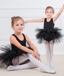 Fashion kids girl ballet tutu dress Professional dancing Party dress  Performance costume Princess Wedding Girl Dress 2-8 Ys