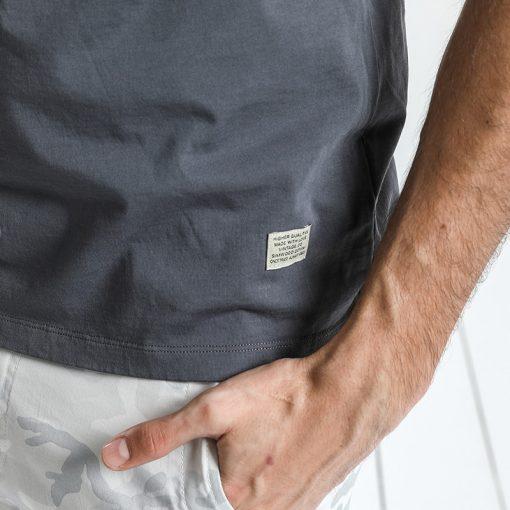 SIMWOOD T Shirt Men 2019 Crew Neck Summer New Graphic Print Fashion Slim Fit TShirt High Quality Plus Size Casual Tops 180044 5