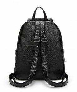 REPRCLA Hot Sale Women Backpacks Simple Casual PU Leather School Bags for Teenage Girls High Quality Women Bags Mochila 1